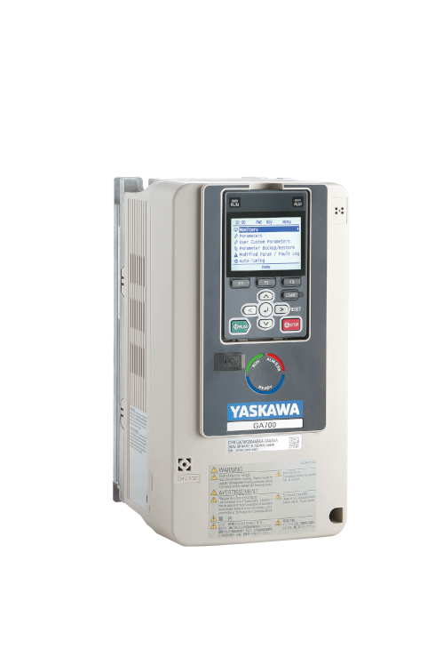 Yaskawa Inverter GA700 400V ND 4.1A/1.5kW HD 3.4A/0.75kW IP20