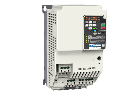 Yaskawa Inverter GA500 400V ND 17.5A/7.5kW HD 14.8A/5.5kW IP20 C2 Filter Built-in
