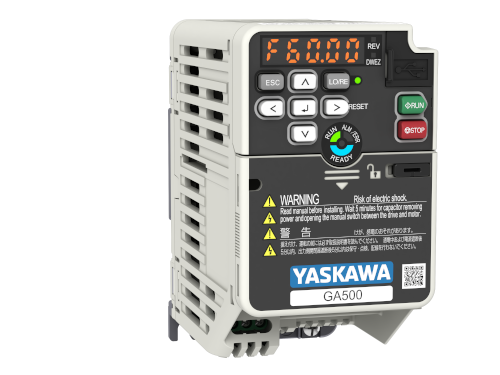 Yaskawa Inverter GA500 1PH 200V ND 3.3A/0.75kW HD 3.0A/0.4kW IP20 C2 Filter Built-in