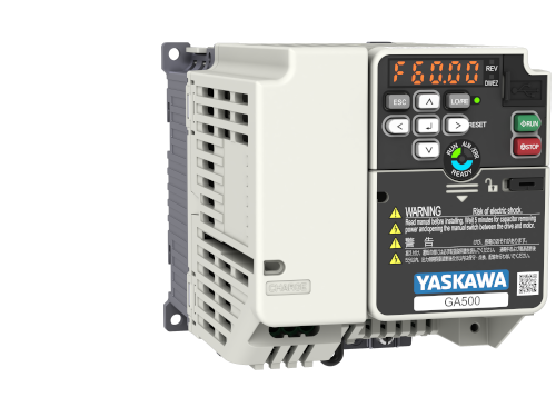 Yaskawa Inverter GA500 400V ND 5.4A/2.2kW HD 4.8A/1.5kW IP20 C2 Filter Built-in